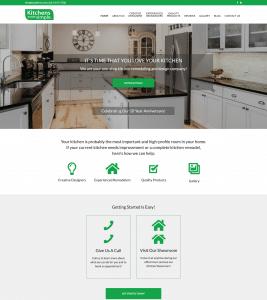 Kitchens Made Simple website built by Smart Web Ninja